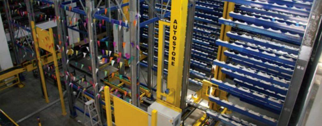 immagine magazzino automatico per tessuti d decor