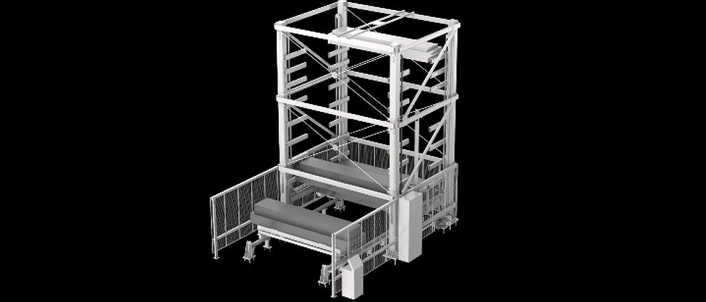 immagine magazzino automatico verticale heavytower Automha