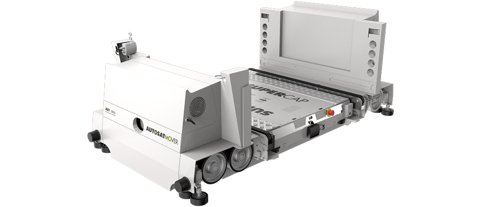 autosat mover for automated pallet storage