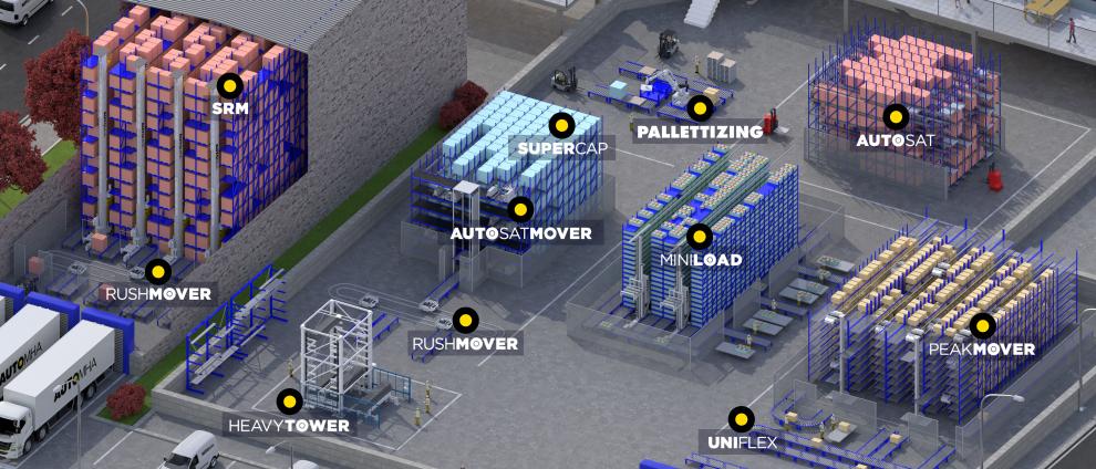 goods storage systems
