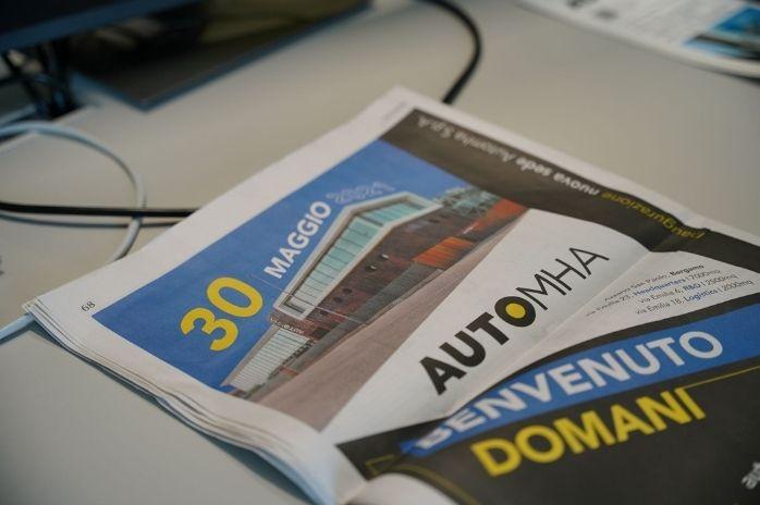 immagine articolo di giornale automha