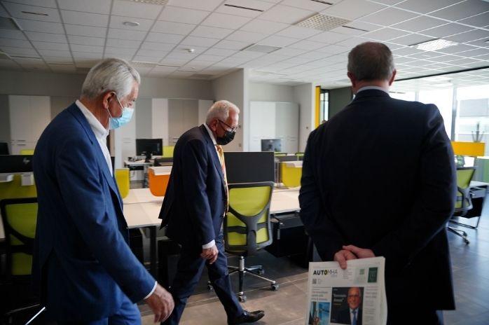 immagine tour dei nuovi uffici automha in provincia di bergamo