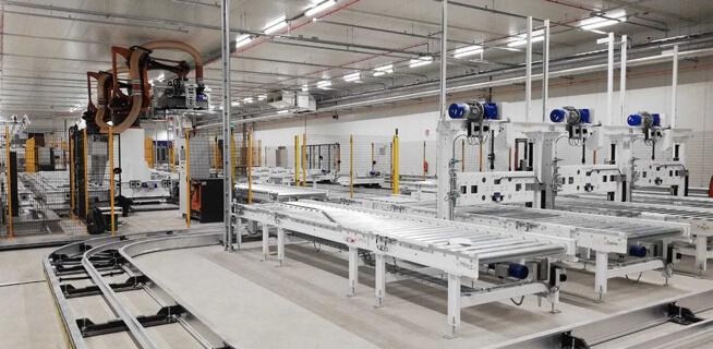 immagine sistemi automatici per la movimentazione interna delle merci
