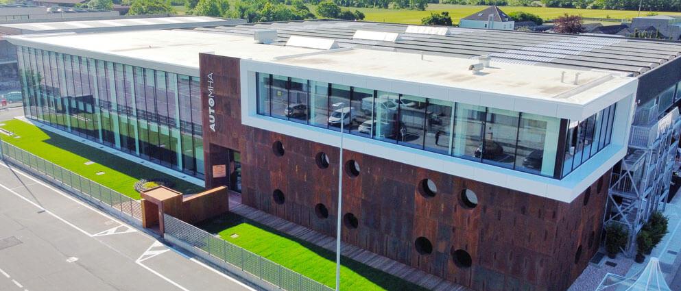 image automha new headquarter aiutomatic warehouses